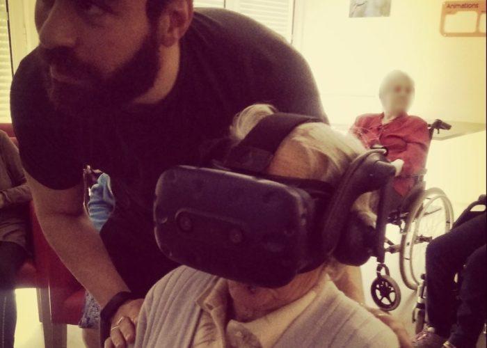 Réalité virtuelle en ehpad