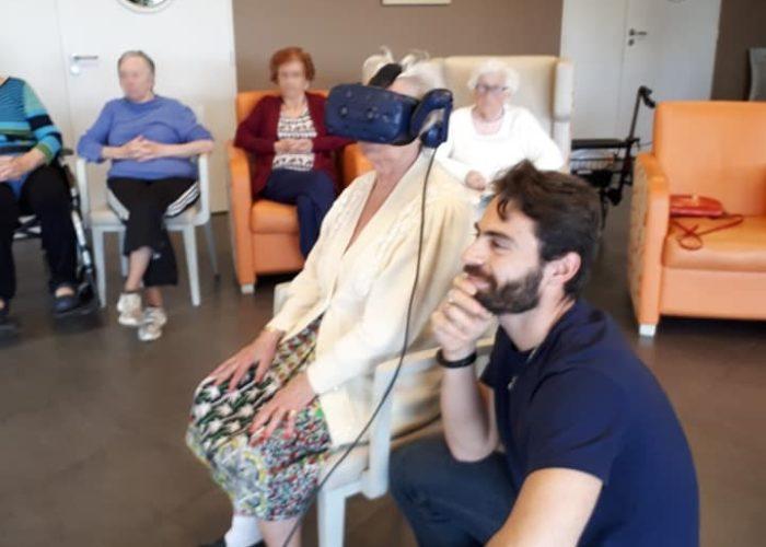 Animation vr en maison de retraite