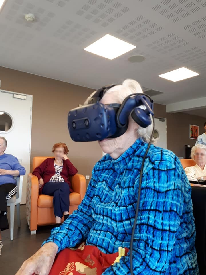 Realité virtuelle en ehpad
