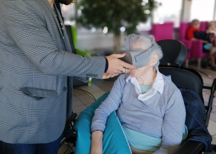 Animation realité virtuelle senior