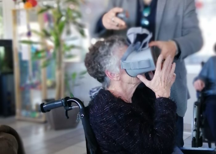 Animation realité virtuelle senior